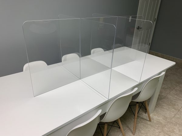 6-Person Tabletop SeparationScreen